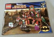 Lego SUPER HEROES Instruction Manual Only et) #6857 Dynamic Duo Funhouse