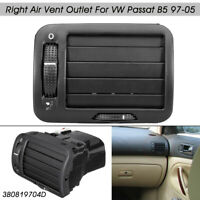 Car Front Dashboard Right Air Vent Outlet A/C Heater For VW Passat B5 1997-2005