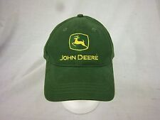 trucker hat baseball cap JOHN DEERE retro slide adjuster cool cloth embroidered