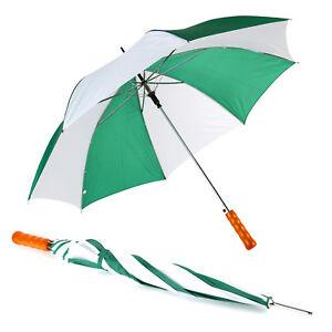 Regenschirm Stockschirm Automatik Golfschirm mit Holzgriff groß stabil