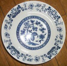 Vintage Blue Onion Serving Bowl
