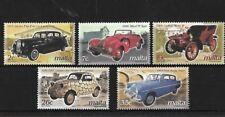 MALTA SG1289/93, 2003 VINTAGE CARS MNH