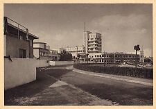 Original Weissenhof Estate Postcard SCHAROUN DOCKER TAUT FRANK 1927 Bauhaus