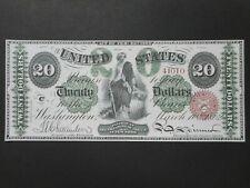 United States 20 Dollars 1862 (FAKE) (P-132a.1)