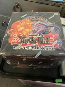 Yugioh 1st Edition Fury From The Deep Structure Deck Box ~ Factory Sealed Case