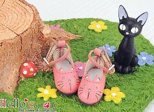 ☆╮Cool Cat╭☆【11-06】Blythe/Pullip Cute Cat Mini Shoes # Deep Pink