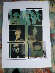 grace jones screenprint a1