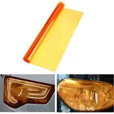 "12 x 48"" Amber Orange Car Tint Headlight Tail Fog Light Vinyl Smoke Film"