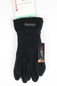 Marmot Men's Connect Interlaken Polartec Gloves Touch Screen Falcon Grip Black