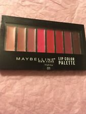 Maybelline Lip Gloss Palette 8 Lip Colors New Sealed Almost Gone Look 01