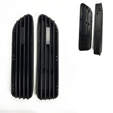 E46 M3 Style Matte Black Look Side Fender Grille Vent GM B C L L M