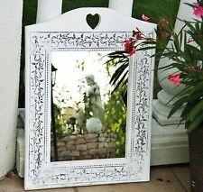 Spiegel Wandspiegel Felina Landhaus Holz weiß 67 Cm