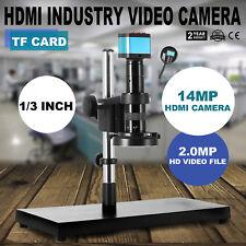 USB HD Digital Mikroskop Kamera Industrie TF Video Recoder DVR 14MP HDMI