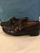 French Shriner Concord Series Brown Slip-on Loafer Size 11 M