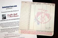 Desi Arnaz I LOVE LUCY 1957 Golf Thunderbird Country Club Desilu Lucille Ball