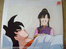 DRAGONBALL Z GOKU / CHI CHI CHICHI ANIME PRODUCTION CEL