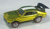 Restored Hot Wheels Redline - 1970 - Mighty Maverick - Yellow