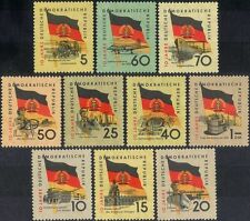 German Aviation Postal Stamps