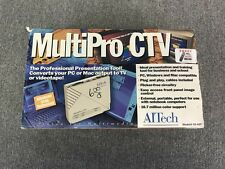 AITech MultiPro CTV Converts to PC & Mac Output to TV Television Converter