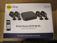 Yale NEW SV-8C-4ABFX Latest Smart Home CCTV Kit XL. HD1080P 4 cam 8 ch 2TB