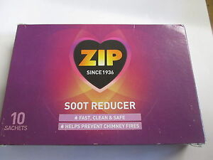 ZIP Soot Reducer - 10 sachet pack