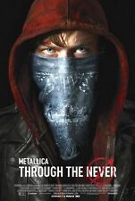 METALLICA - THROUGH THE NEVER - 2013 original 27x40 movie poster - LARS ULRICH