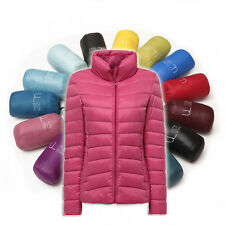 NEW Women jacket Outdoor Coat  Ultra Light duck Down packable Uniqlo Style S-6XL