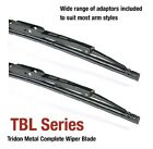 suits Hyundai S Coupe 07/90-12/96 18/18in Tridon Frame Wiper Blades (Pair)