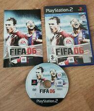 FIFA 06 - Playstation 2 Game PS2 - PAL UK RARE