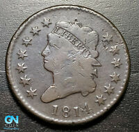 1814 Classic Head Large Cent --  MAKE US AN OFFER!  #B0952