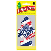 Little Trees Car Air Freshener 6-Pack (Fresh Shave)