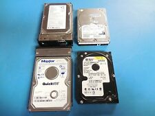 "Seagate, IBM, Western Digital & Maxtor ATA/IDE (PATA) 3.5"" Hard Drives Lot of 4"