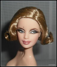 NUDE BARBIE BLONDE 007 JAMES BOND PUSSY GALORE MODEL MUSE DOLL  FOR OOAK