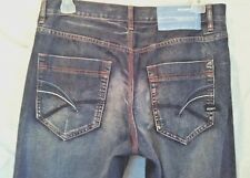 ROCAWEAR MENS ORIGINAL FIT JEANS LIGHTLY DISTRESSED SIZE 34 / 31