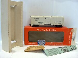 Lionel HO Operating Milk Can Unloading Car #0366 w/box, insert, & accessories