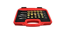 44 PC Oil Pan Drain Sump Plug Key Thread Repair Tool Kit:M13-M20 4 Sizes.