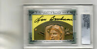 LOU BOUDREAU 2014 LEAF CUT SIGNATURE HISTORY OF BASEBALL EDITION AUTO CARD