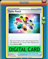 Turbo Patch - PTCGO Online Digital Card