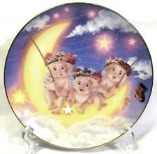"Dreamsicles The Hamilton Collection ""By The Light Of The Moon"" Collector Plate"