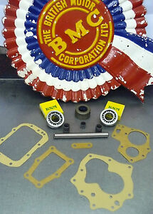 MORRIS MINOR GEARBOX SMOOTHCASE 948/803 OVERHAUL KIT With Quality Bearings