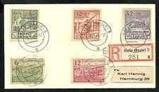 Germany, OPD Saxony 1946, Scott13N13-14,13NB1-3