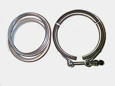 "5"" V Band w/ rings in mild steel"