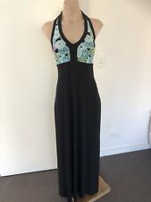 I.N.C INTERNATIONAL CONCEPTS MAXI BLACK DRESS MEDIUM