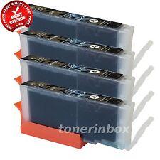4x CLI271 XL CLI-271 XL Black Ink For Canon PIXMA MG5720 MG5721 MG5722 MG6820