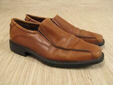 Ecco Windsor Brown Leather Loafer Men's Size US 9 EUR 42 Slip-On Shoe Casual