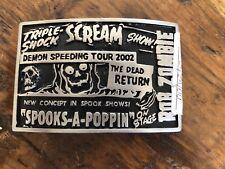 Rob Zombie Demonoid Deluxe Belt Buckle - 2005