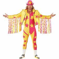 Licenced WWE Macho Man Randy Savage Wrestler Fancy Dress Costume Adult Wrestling