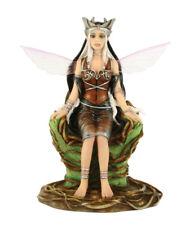 Renee Biertempfel Fairy Statue Figurine QUEEN OF THE WOOD RB91011