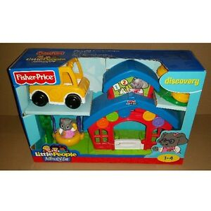 Fisher Price P8978/P8980 Little People Animalville School New Boxed