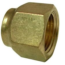 Lpg Air Conditioner Brass Gas Fitting 3/8 Flare Nut for 3/8 Copper Pipe